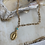 Thumbnail: Dainty Turquoise Miraculous Mary Necklace