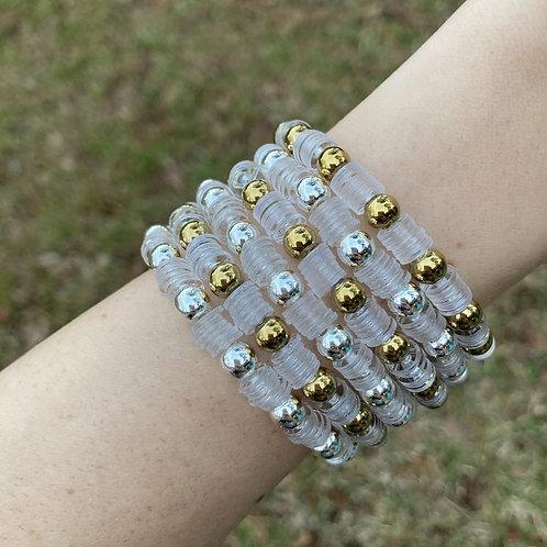 Studded Vinyl Bracelet