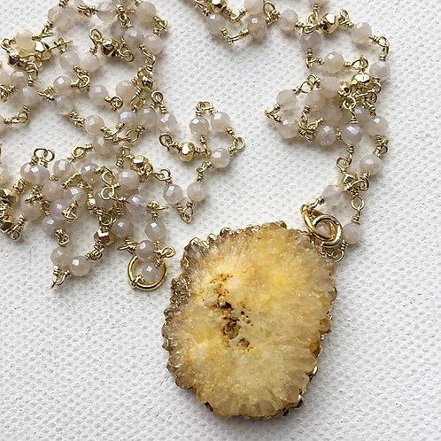 Moon Pie Necklace