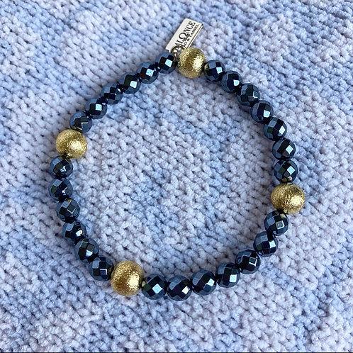 Hematite Accent Bracelet