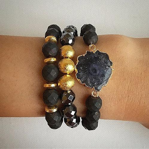 Black & Gold Stack