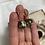 Thumbnail: Vintage Cloisonnè Huggie Earrings