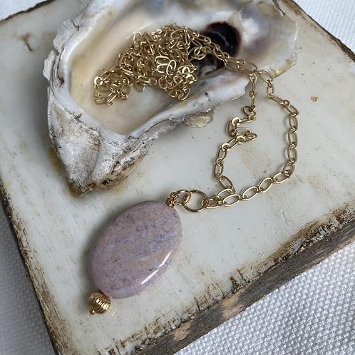Pink Jasper Necklace