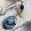 Thumbnail: Lapis & Ocean Agate Necklace