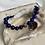 Thumbnail: Lapis & Vintage Cloisonnè Bracelet