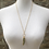 Thumbnail: Green Kyanite Charm Necklace