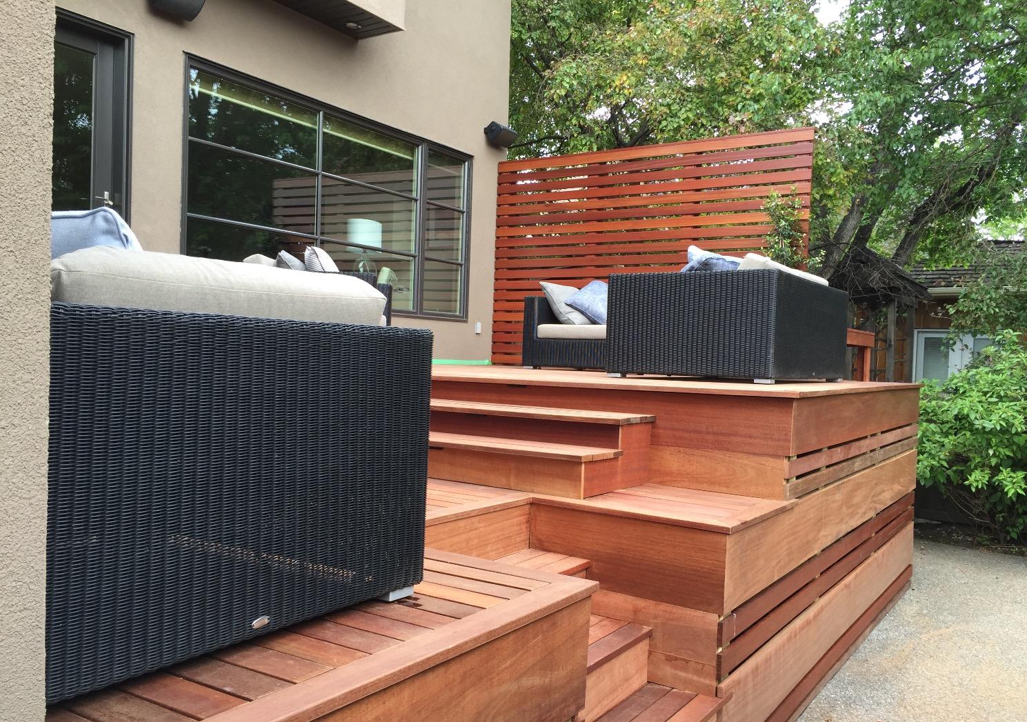 Deck Remodel - Kayu Batu Exotic Wood