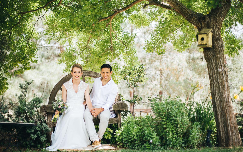 חתן כלה- ביום חתונתם