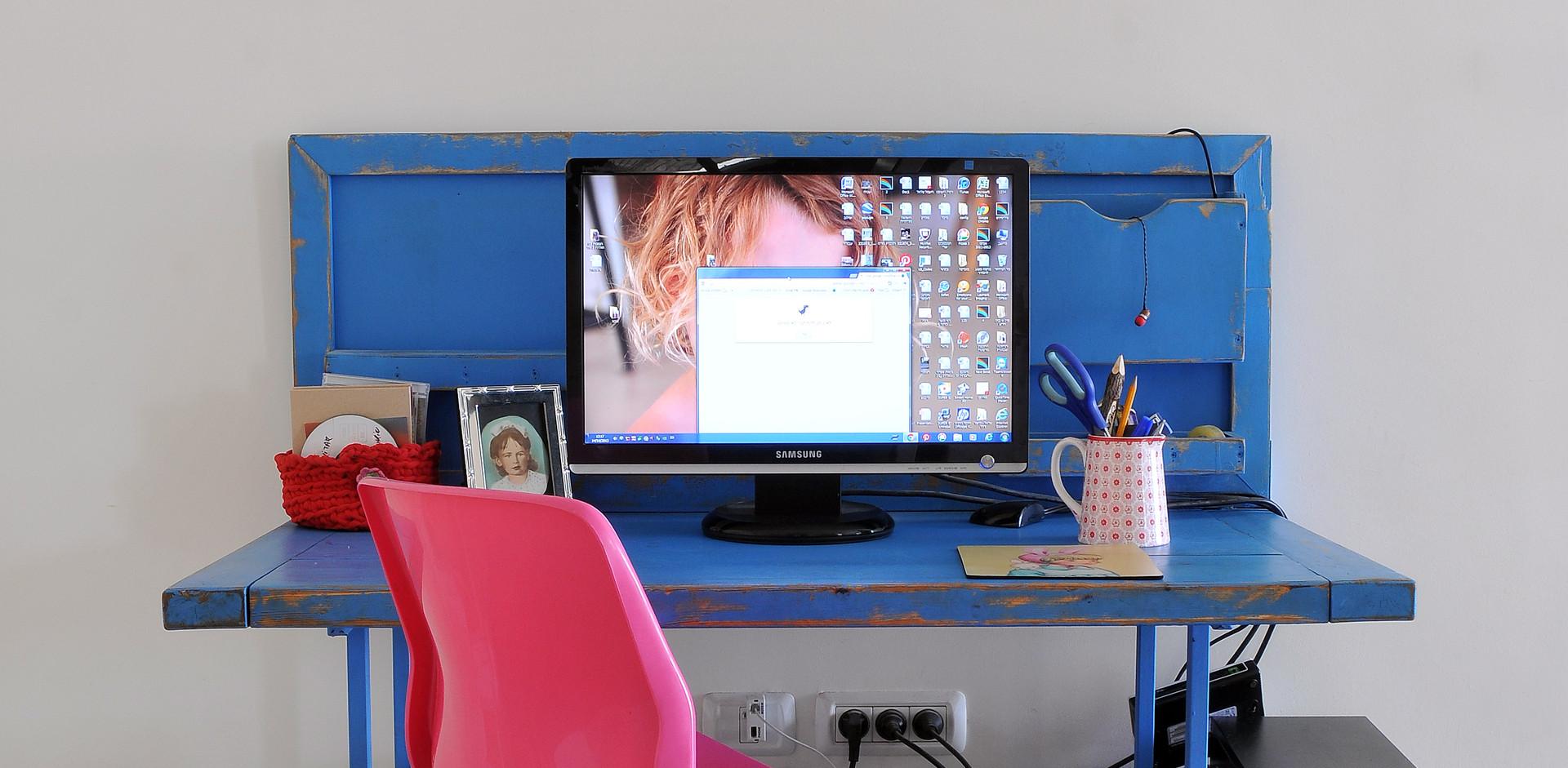 פינת מחשב שנעשתה לבד