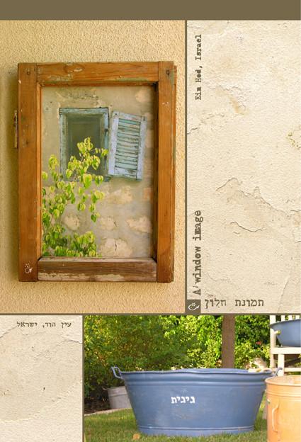 """צילום מקורי שלי שהפך לתמונת חלון-  """"עין הוד"""""""