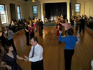 Practice your ballroom and latin dancing at one of our weekly Saturday social dances.