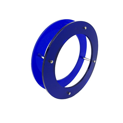Brazalete XI azul redondo doble