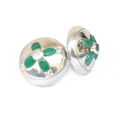 Gemelos DANDY emerald flower