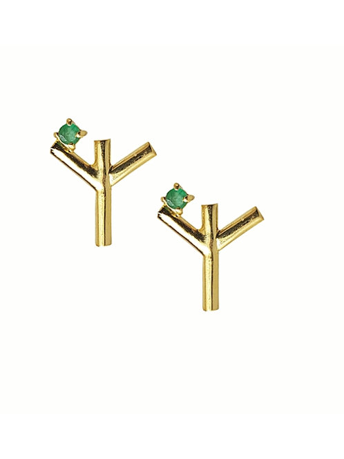 Rune Protection Earrings