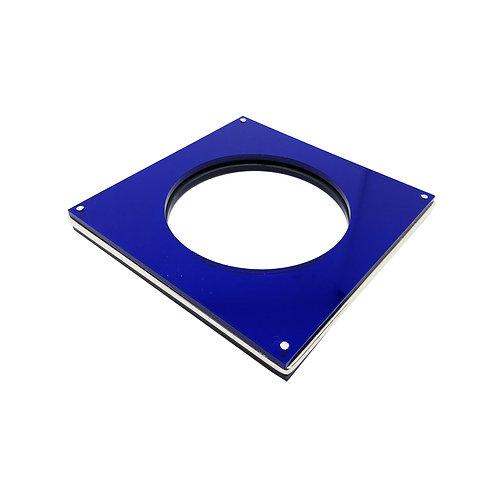 Brazalete XI azul carre
