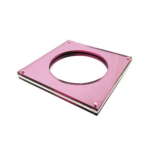 Brazalete XI rosa carre