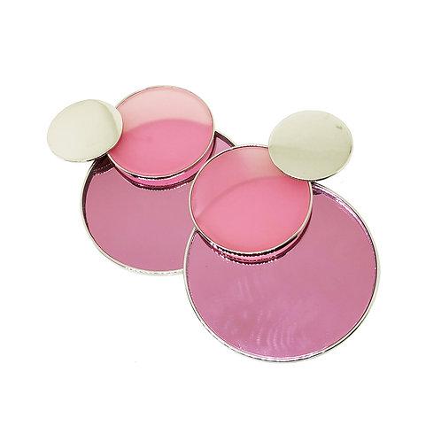 aros XI circulos rosa