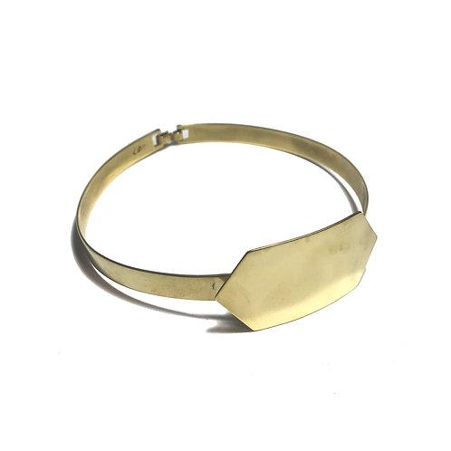 Collar MARMOL pleno dorado
