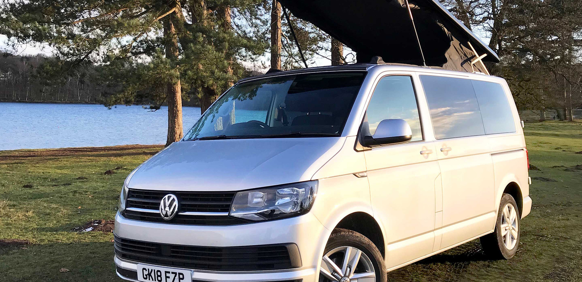 Natural Born Campers. Camper van conversions in South Manchester. Volkswagen T6 Transporter long wheelbase camper van.