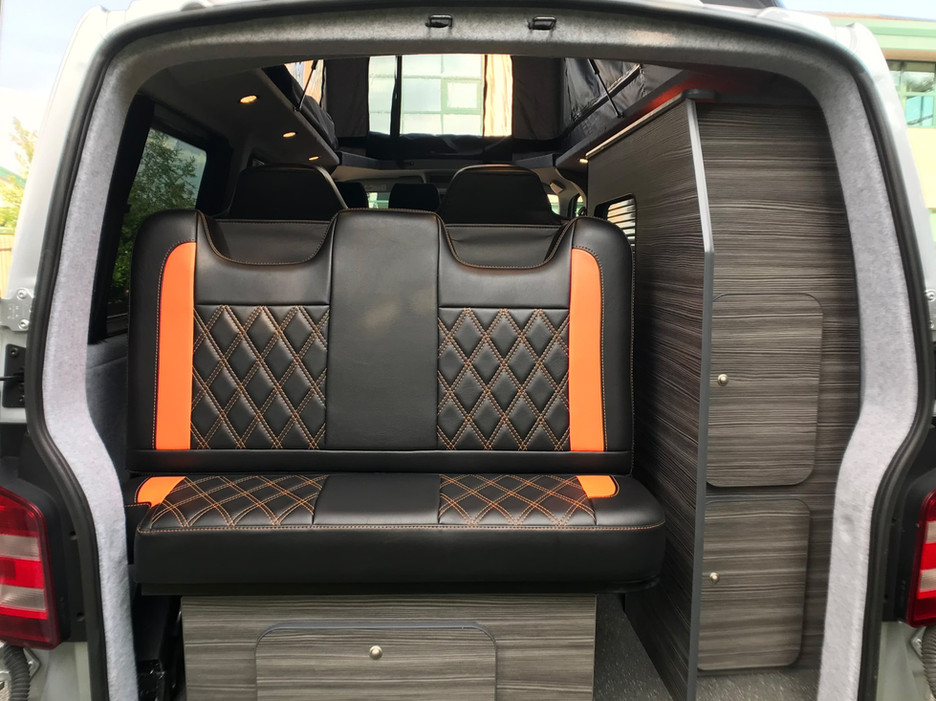 Natural Born Campers. Camper van conversions in South Manchester. Volkswagen T6 Transporter camper van.