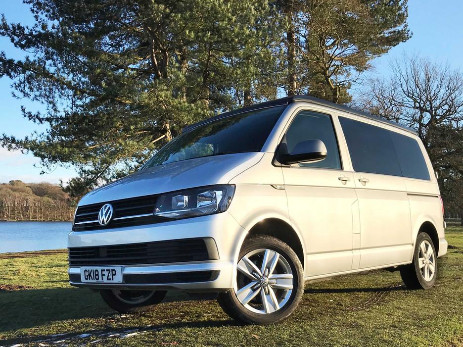 Natural Born Campers. Camper van conversions in South Manchester. Volkswagen T6 Transporter long wheelbase camper van.