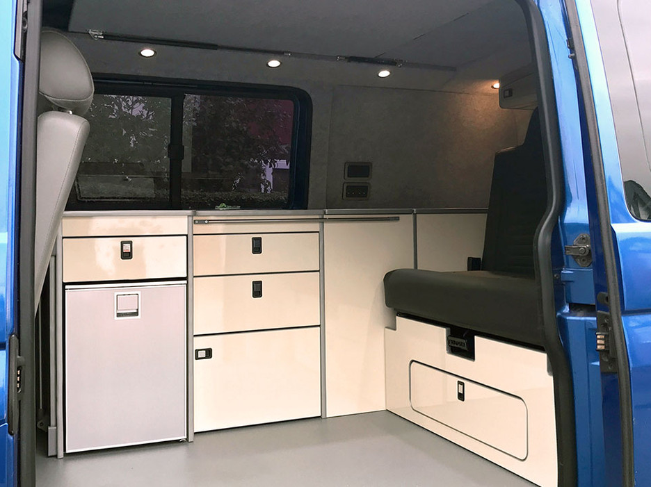 Natural Born Campers. Camper van conversions in South Manchester. Volkswagen T5 Kombi Camper Van.