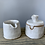 Thumbnail: Ceramic Cream & Sugar Set