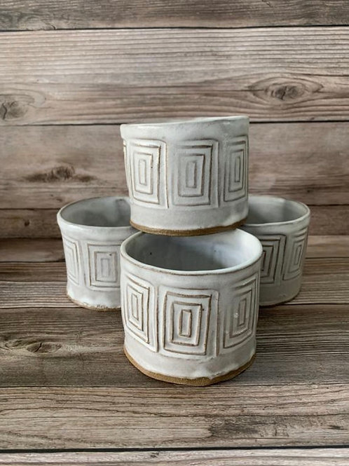 Ceramic Whiskey Cup
