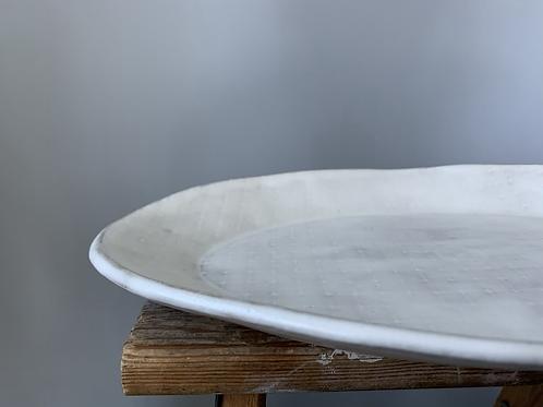 Ceramic Modern Farmhouse Serving Platter