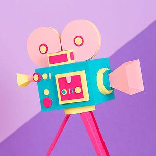 """""""cinéma"""" Paper Art"""