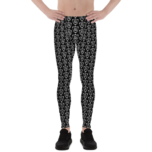 Saint George Fashion House Black Shield Men's Leggings