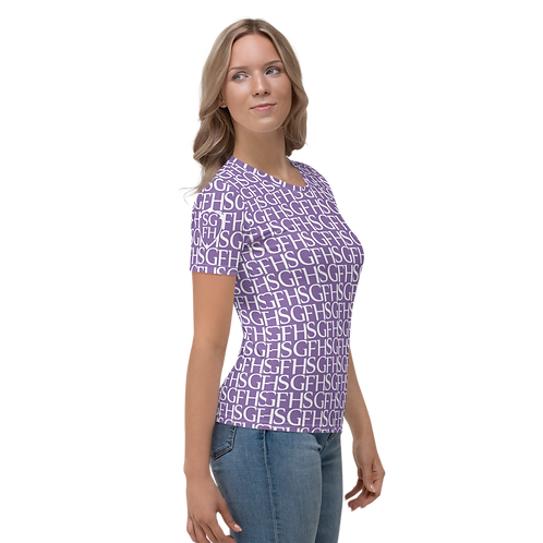 Saint George Fashion House Women's Logo Purple T-Shirt
