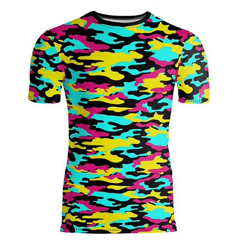 Saint George Fashion House Bespoke Fitted Camouflage T-Shirt