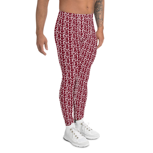 Saint George Fashion House Wine Logo Men's Leggings