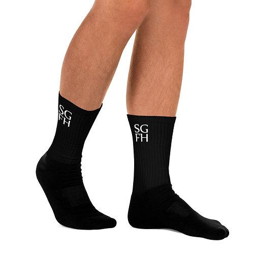 Saint George Fashion House Men's Logo Socks