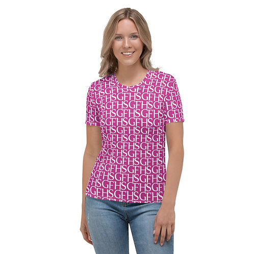 Saint George Fashion House Women's Logo Pink T-shirt