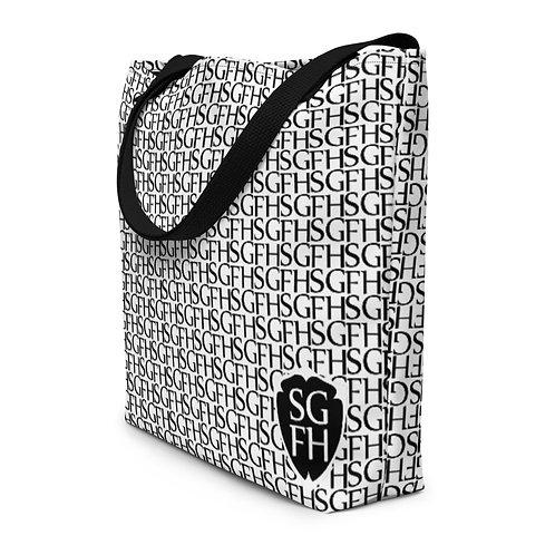 Saint George Fashion House Logo Beach Bag