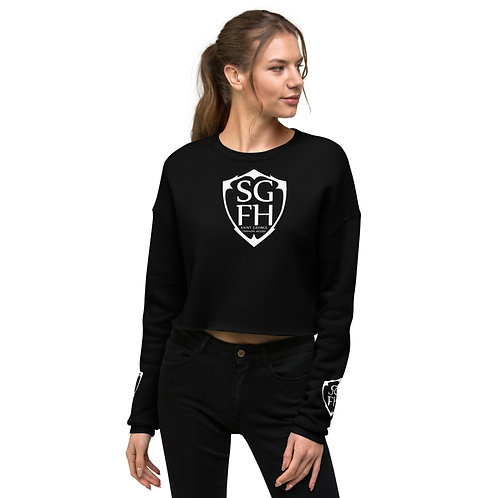 Saint George Fashion House Shield Crop Sweatshirt