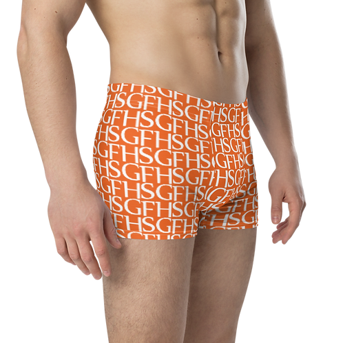 Saint George Fashion House Orange Logo Boxer Briefs