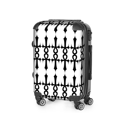 SGFH Saint X Sinner Ankh White Carry On Luggage