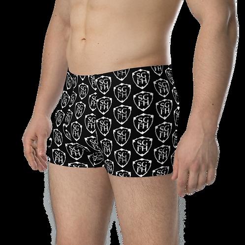 Saint George Fashion House Shield Black Boxer Briefs