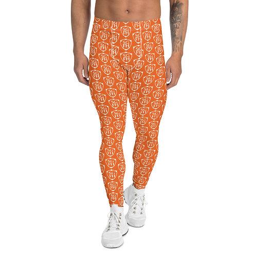 Saint George Fashion House Orange Shield Men's Leggings