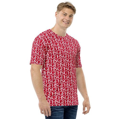 Saint George Fashion House Men's Logo Red T-Shirt