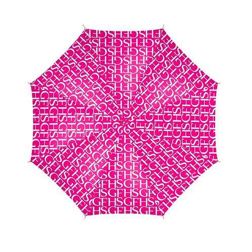 SGFH Logo Pink Umbrella