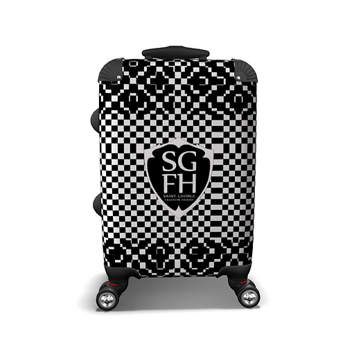 SGFH Mad Black Carry On Luggage