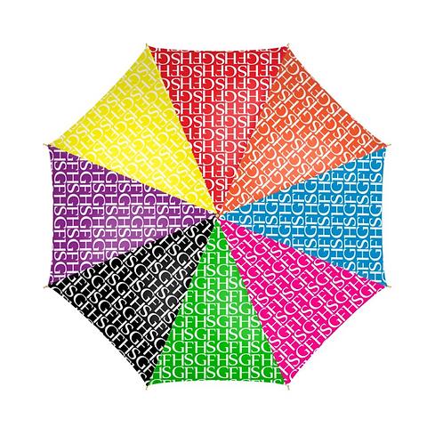 SGFH Logo Multi Colour Umbrella