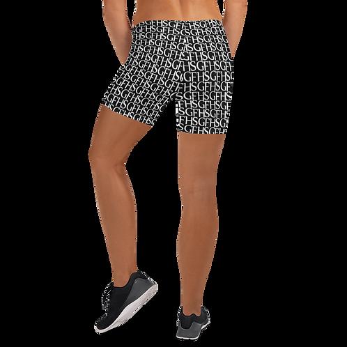 Saint George Fashion House Black Shield Women's Shorts