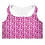 Thumbnail: Saint George Fashion House Pink Logo Padded Sports Bra