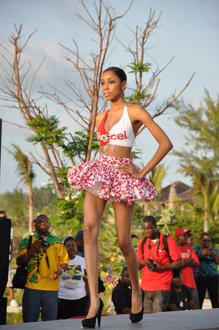Saint George Fashion House's featured in Digicel TCI 5th Anniversary Fashion Show