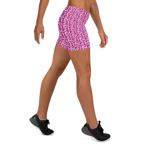 Saint George Fashion House Pink Shield Women's Shorts